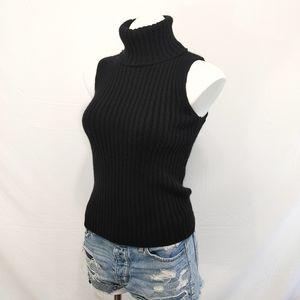 Banana Republic CASHMERE sleeveless sweater sz S